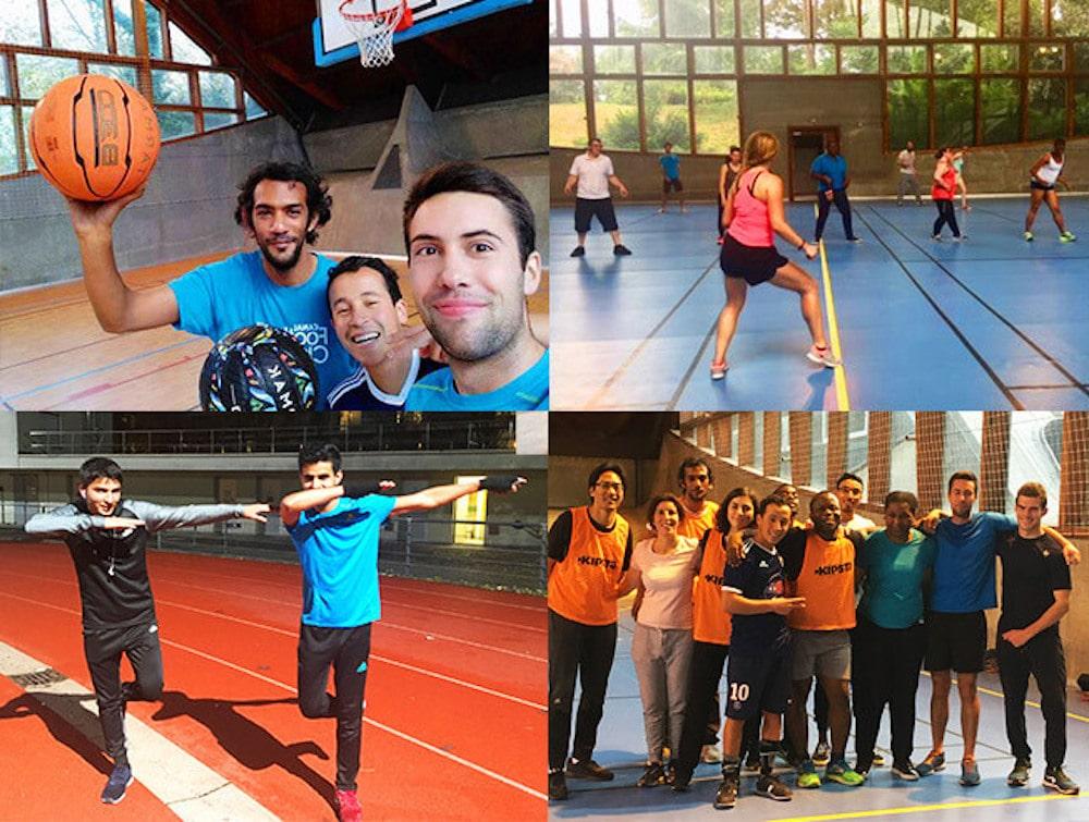 up sport ! unis pour le sport
