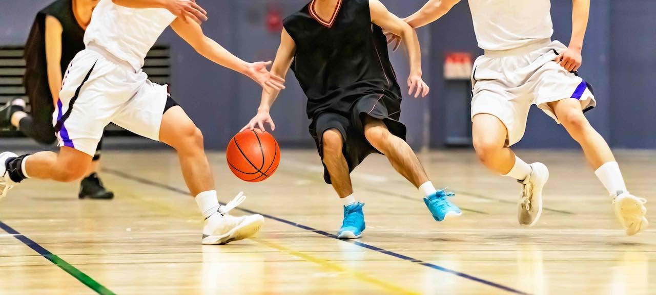 genouillère de protection basketball