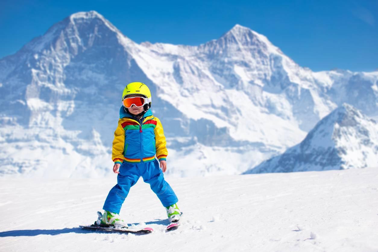 ski de rando pour enfants